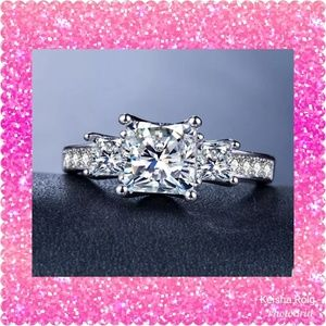 💕JUST IN💕14K White Gold Filled